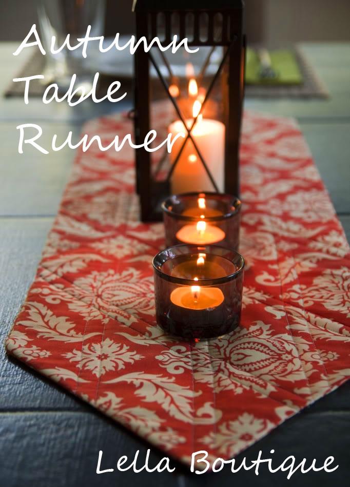 Lella Boutique: Autumn Table Runner