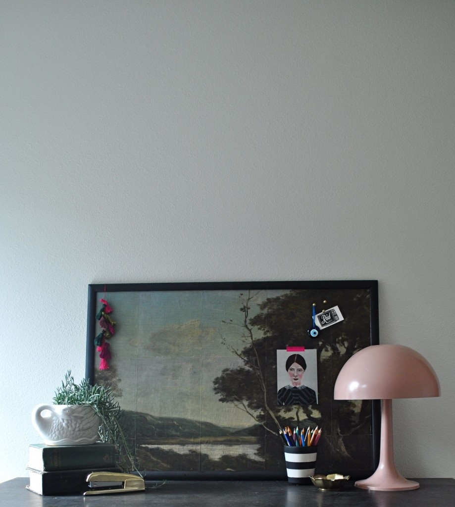 Tutorial: Oil Painting Bulletin Board   Red House West