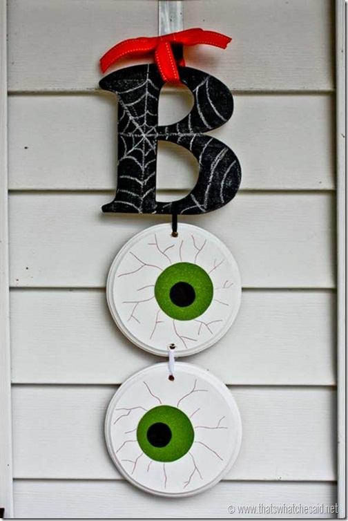 BOO Halloween Door Hanging - That's What {Che} Said...