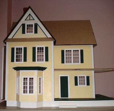 Building a Dollhouse: Eave Trim Pieces