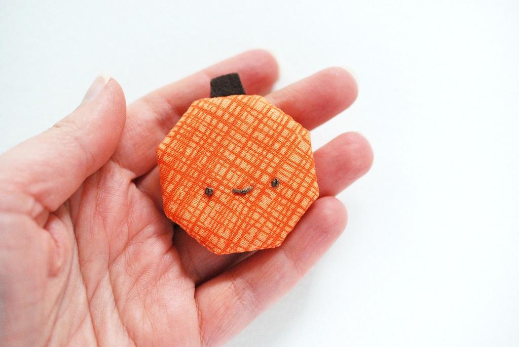 Wild Olive: project // epp octagon pumpkin pin