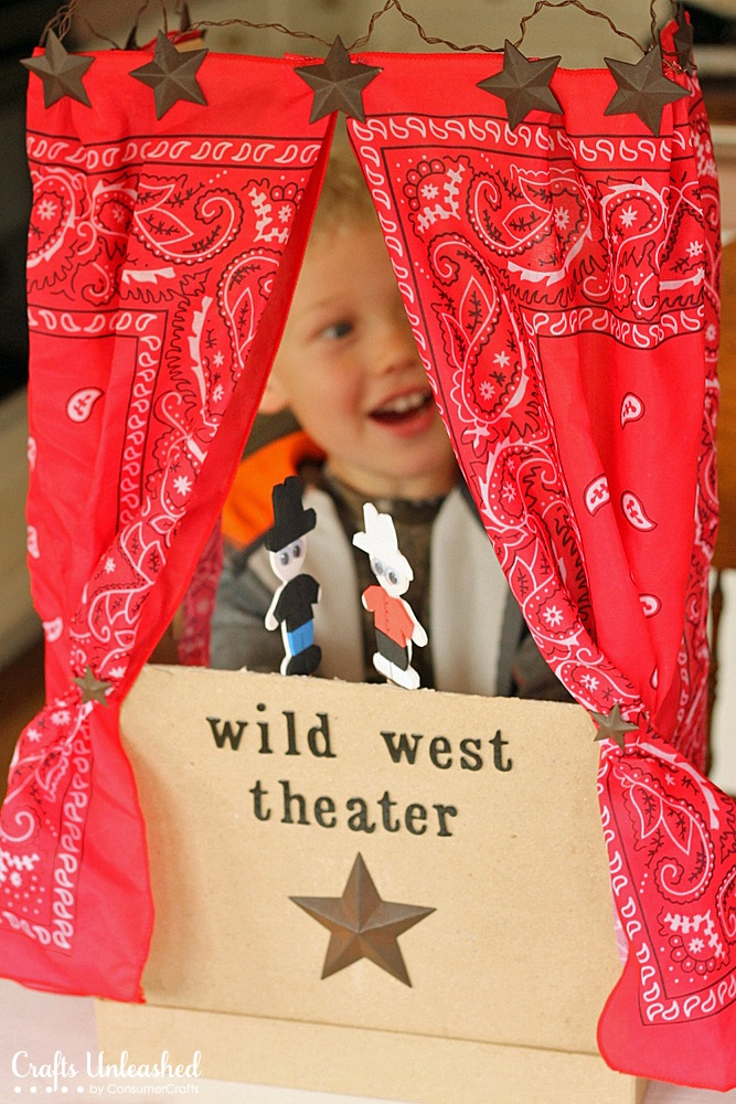 Puppet Theater for Kids: A Step by Step Tutorial
