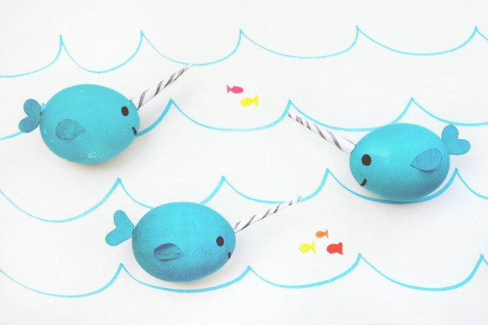 Narwhal Easter Eggs