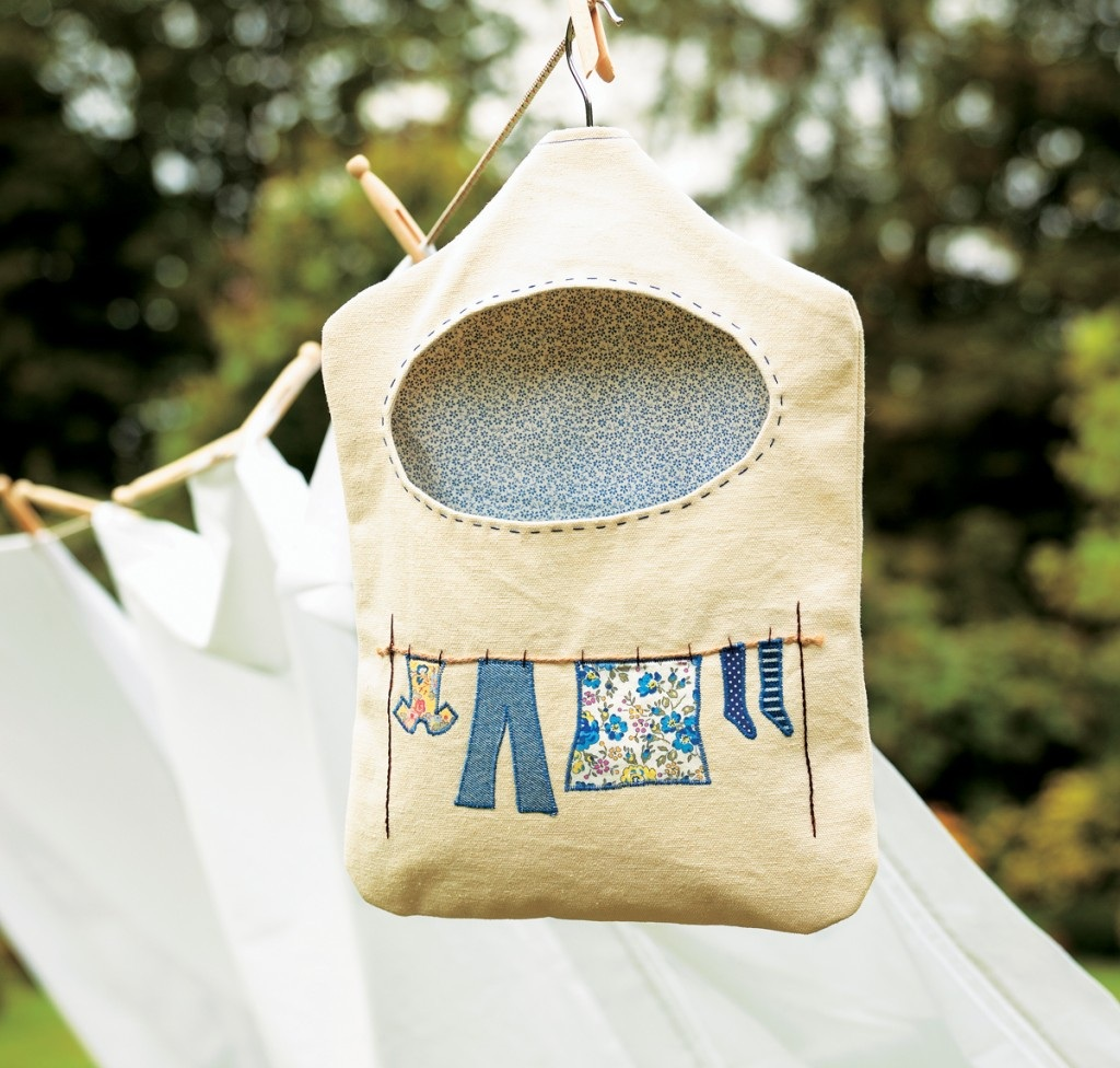 Mother's Day Gifts | Peg Bag Free Sewing Project