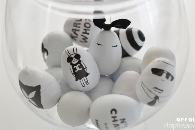 Designer Inspired Easter Eggs