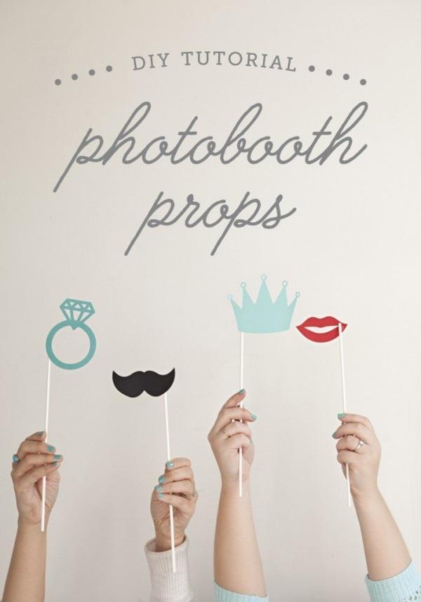DIY Photobooth Props