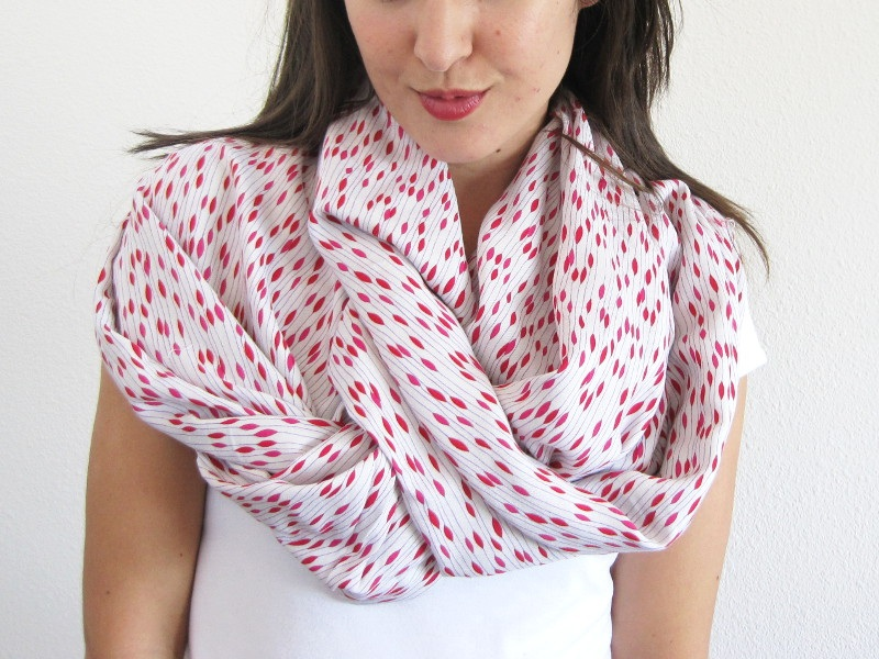 Infinity Scarf Sewing Tutorial