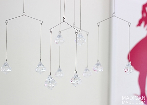 Simple Crystal Baby Mobile Craft ~ Madigan Made