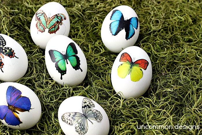 Temporary Tattoo Easter Eggs