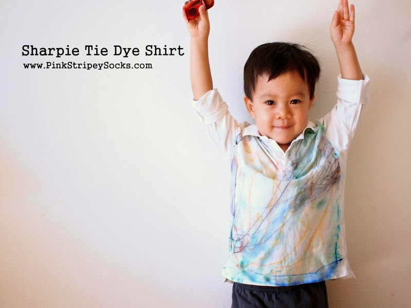 Sharpie Tie Dye Shirt