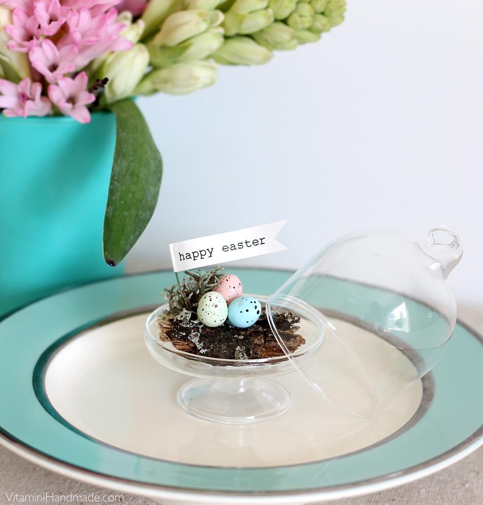 DIY Mini Easter Dome