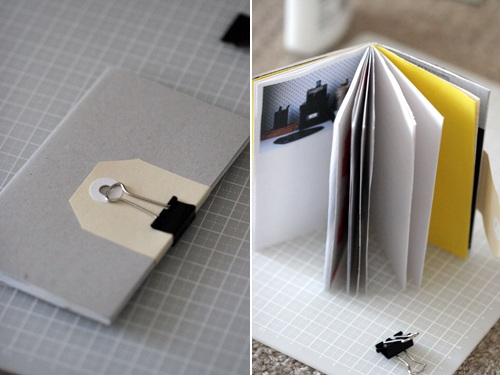 An easy way to make cute notebooks!