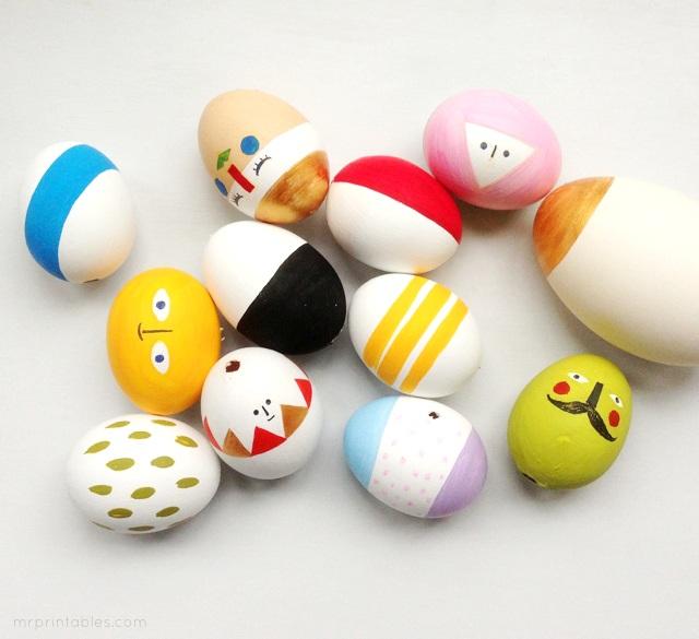 Easter Eggs Mix & Match Sculptures