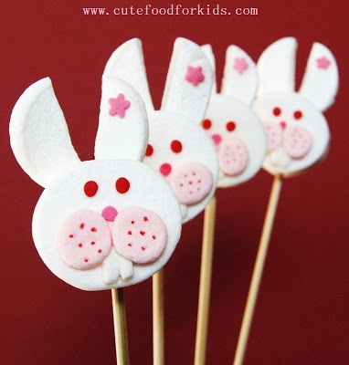 How to Make Marshmallow Bunny Pop