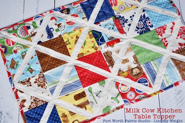 Milk Cow Kitchen Table Topper