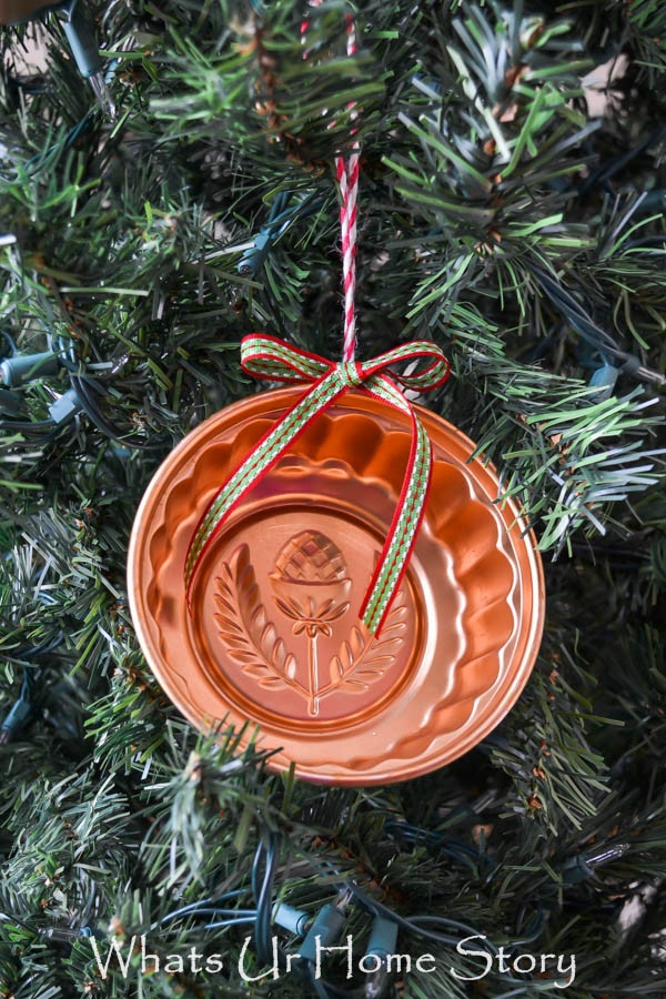 Vintage Jello Mold Ornament