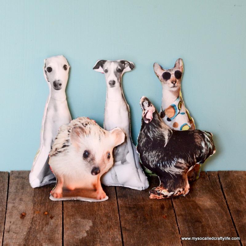 Handmade Gifts 2014 DIY Pet Pillows
