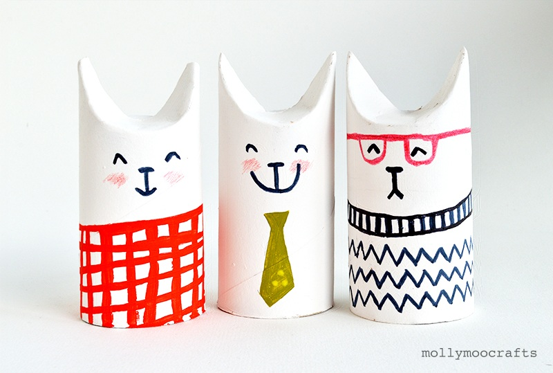 Toilet Roll Crafts Let's Make Sophisti Cats