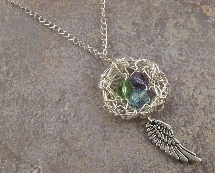 Wire Wrapped Birds Nests A Tutorial