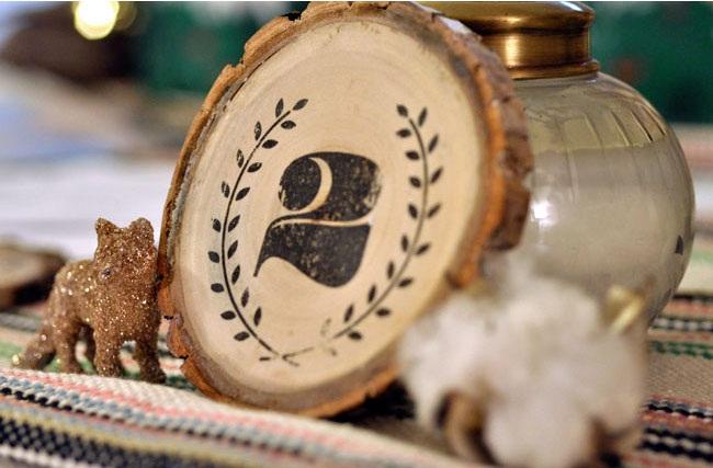 DIY Vintage Wood Table Numbers