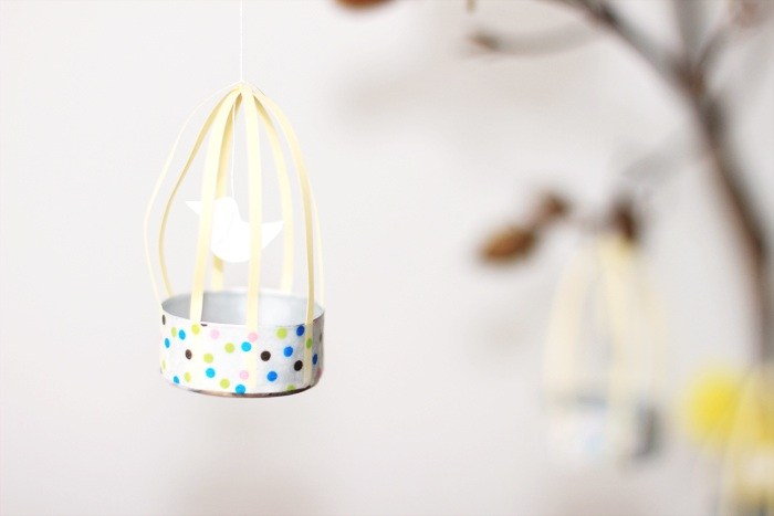 DIY paper bird cages. �C Look what I made ...LOOK WHAT I MADE …
