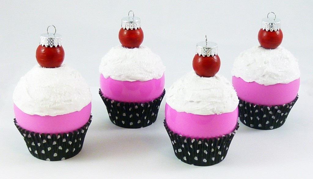 Ornament Challenge 2011 Cupcake Ornaments