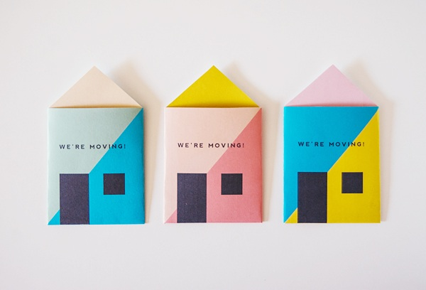 Printable Housewarming Invitations & Moving Announcements