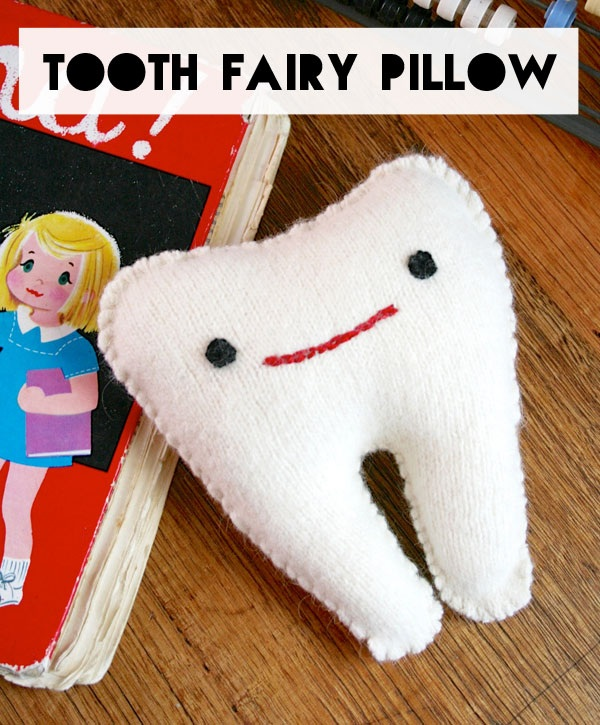 How To Tooth Fairy Pillow