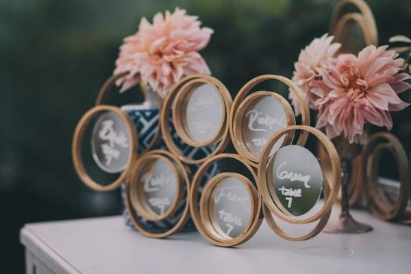 DIY Ring Mirror Backdrop