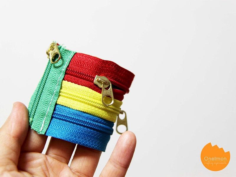DIY Tutorial Zipper Bracelet