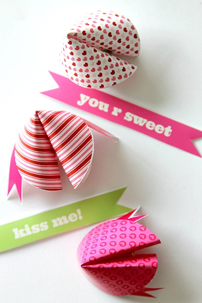 Fortune Cookie Printable Free Valentines Day Fortunes!