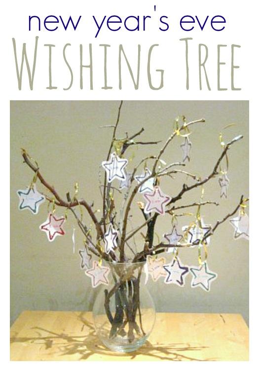 New Year's Eve Wishing Tree