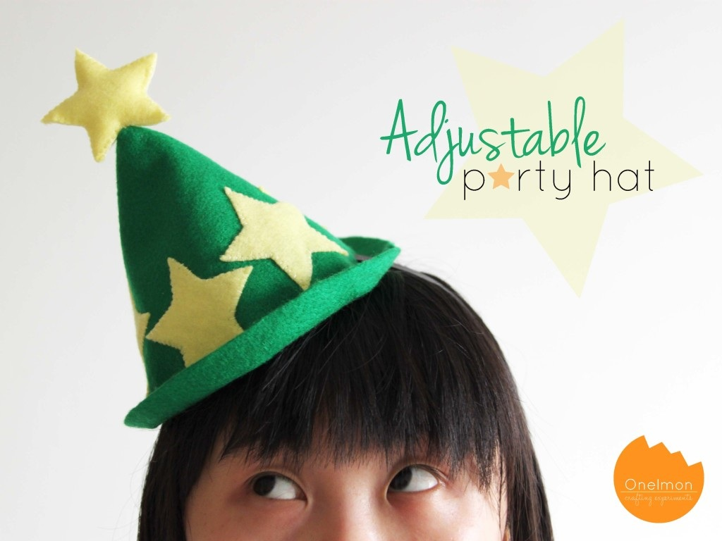 DIY Adjustable Felt Hat