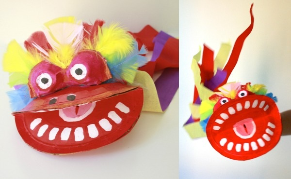 How To Chinese New Year Dragon Puppet