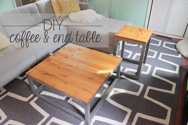 DIY Matching Coffee Table & End Table