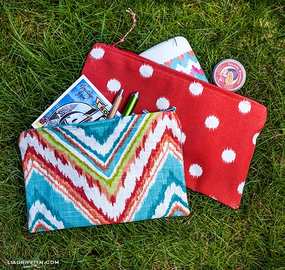 DIY Zipper Bags to Organize Your Tote