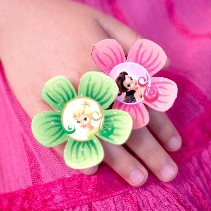 Disney Fairy Flower Rings
