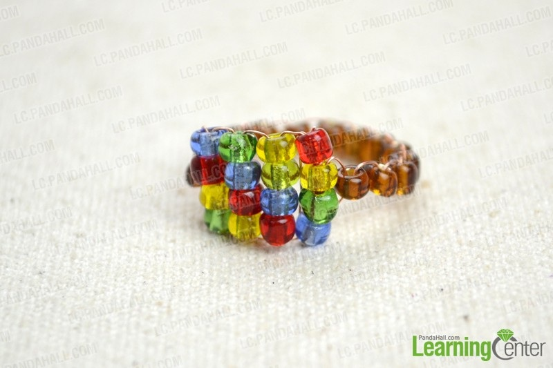Beaded Ring Tutorial – How to Create Your Own Ring with 2 Easy Steps
