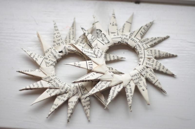 DIY Paper Starburst