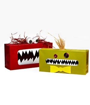 A Fun and Simple Craft Idea Tissue Box Gobble Monsters