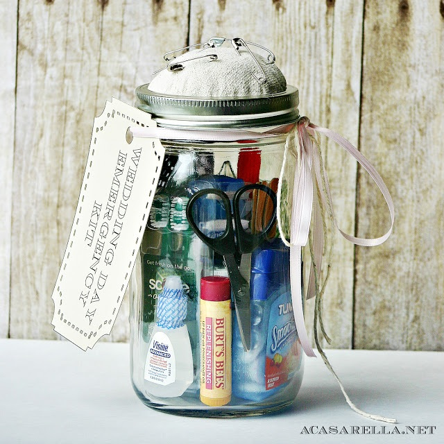Mason Jar Wedding Kit