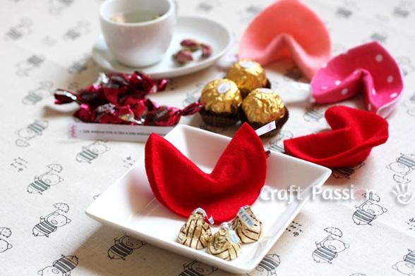 Valentine Fortune Cookies DIY