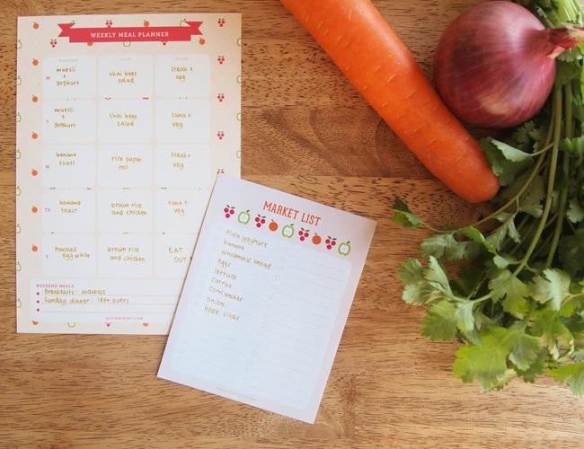 Printable Meal Planner