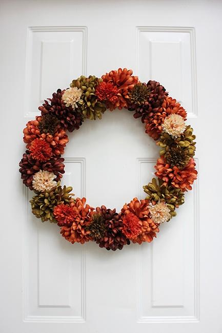 I made a wreath