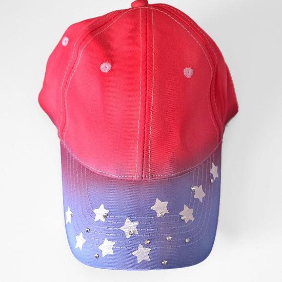 DIY Star Spangled & Tie Dyed Patriotic Ball Cap