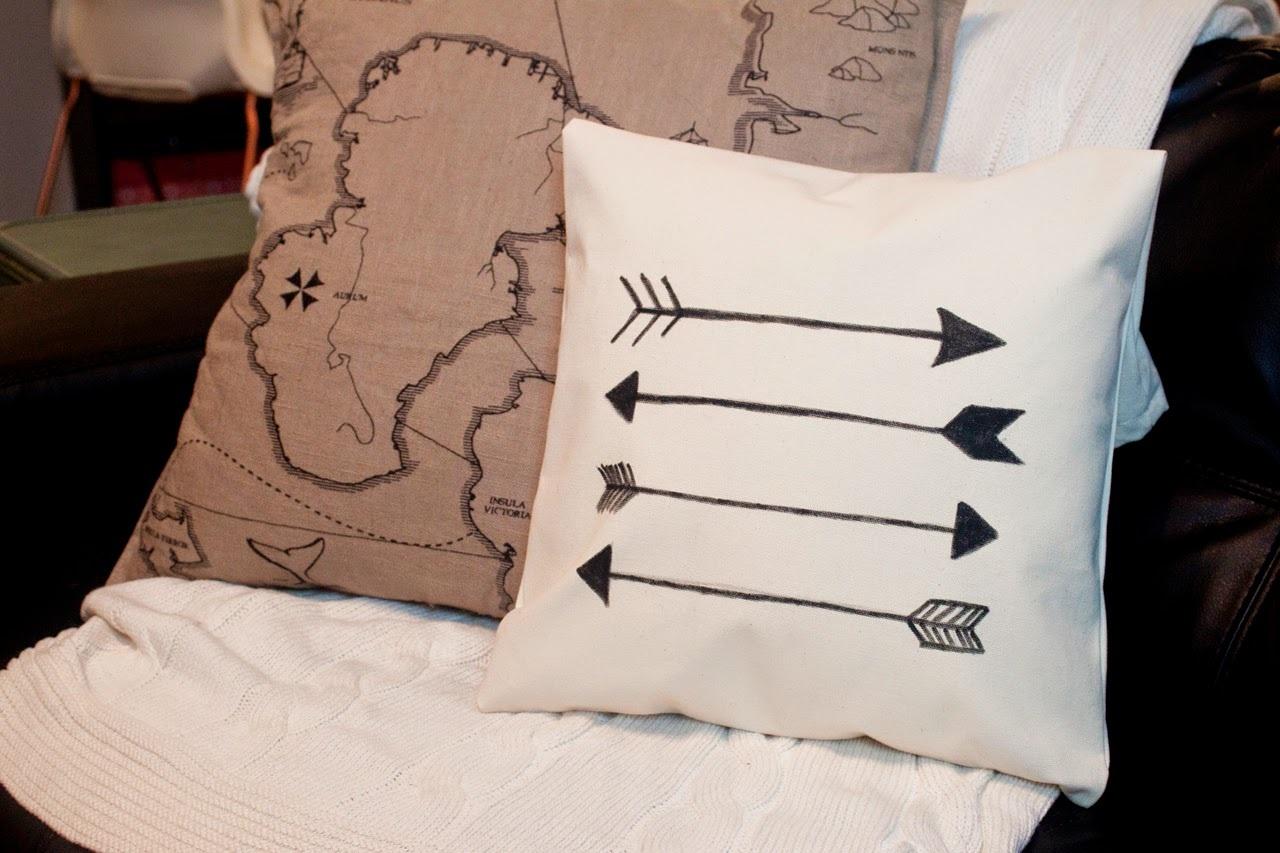 Ten Dollar Tuesday Arrow Pillow