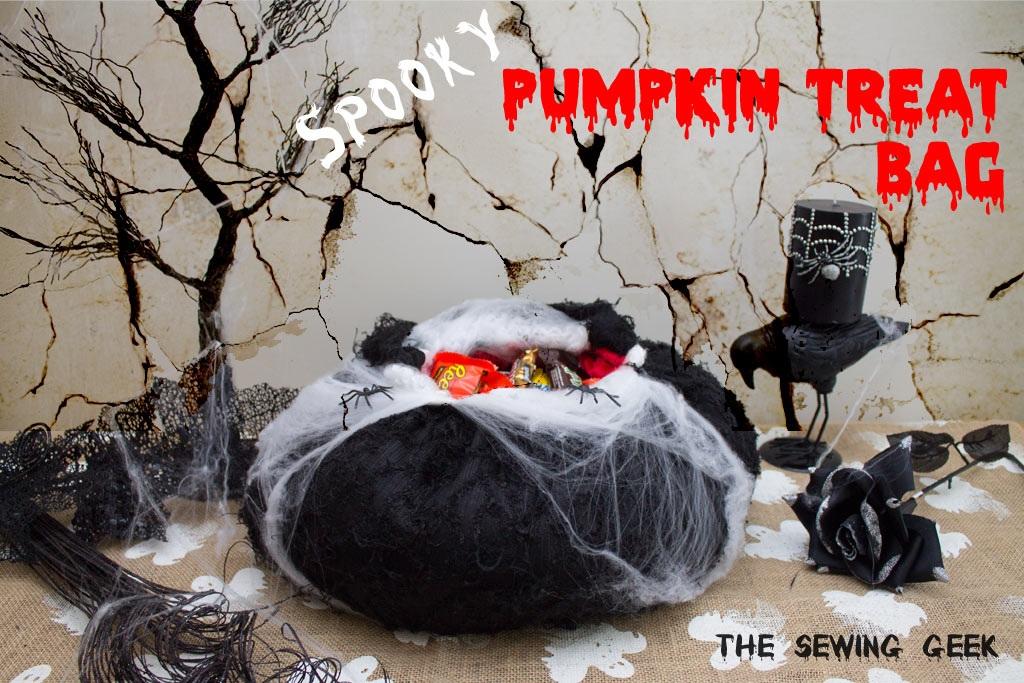 Spooky Pumpkin Treat Bag Halloween Hack