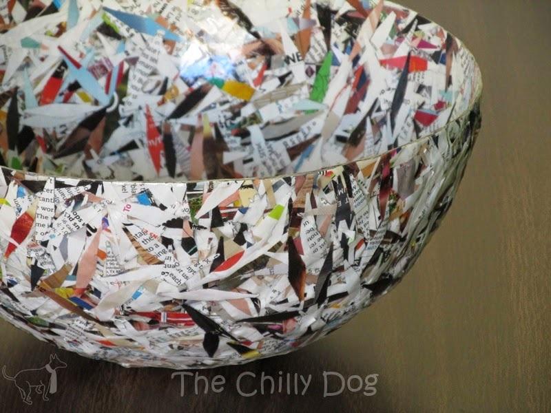 Craft Challenge Tutorial Paper Bowl
