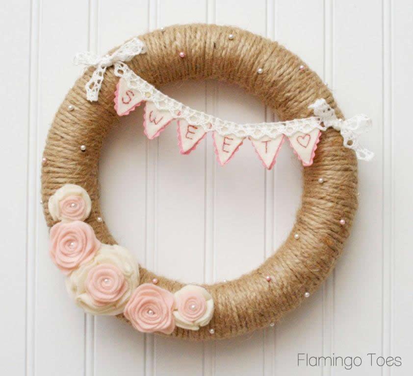 Sweetheart Valentine's Day Wreath