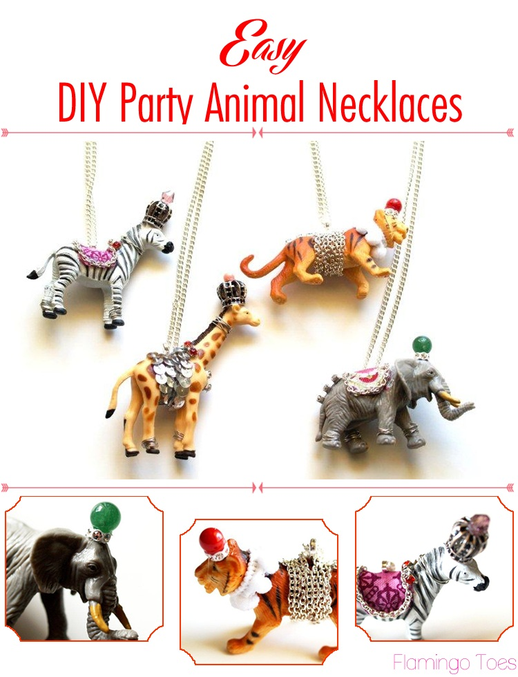 Anthropologie Party Animal Necklace DIY
